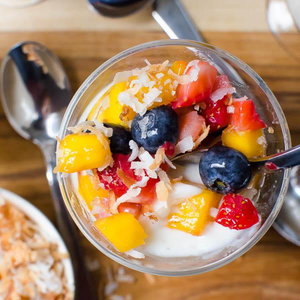 Fruit Salad Pudding Recipe - May Free Choice